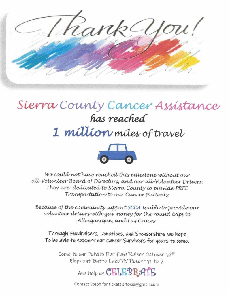 million miles of cancer support